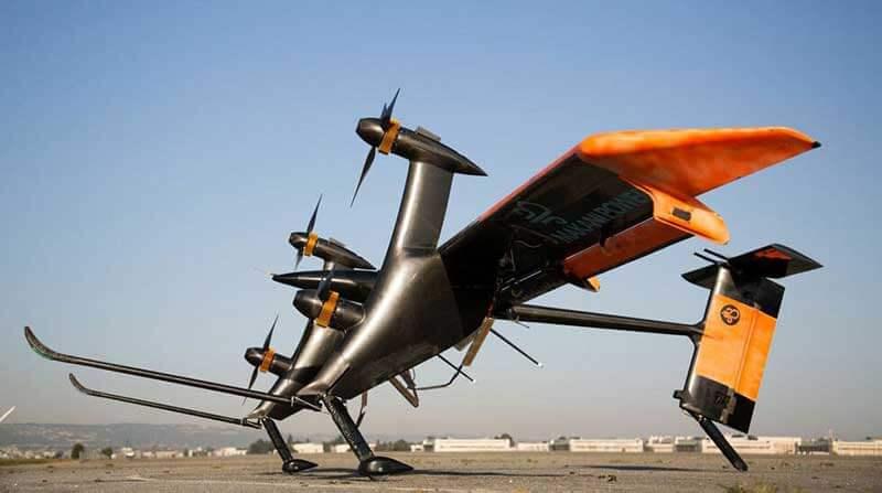 Soort vliegtuig op een landingsbaan